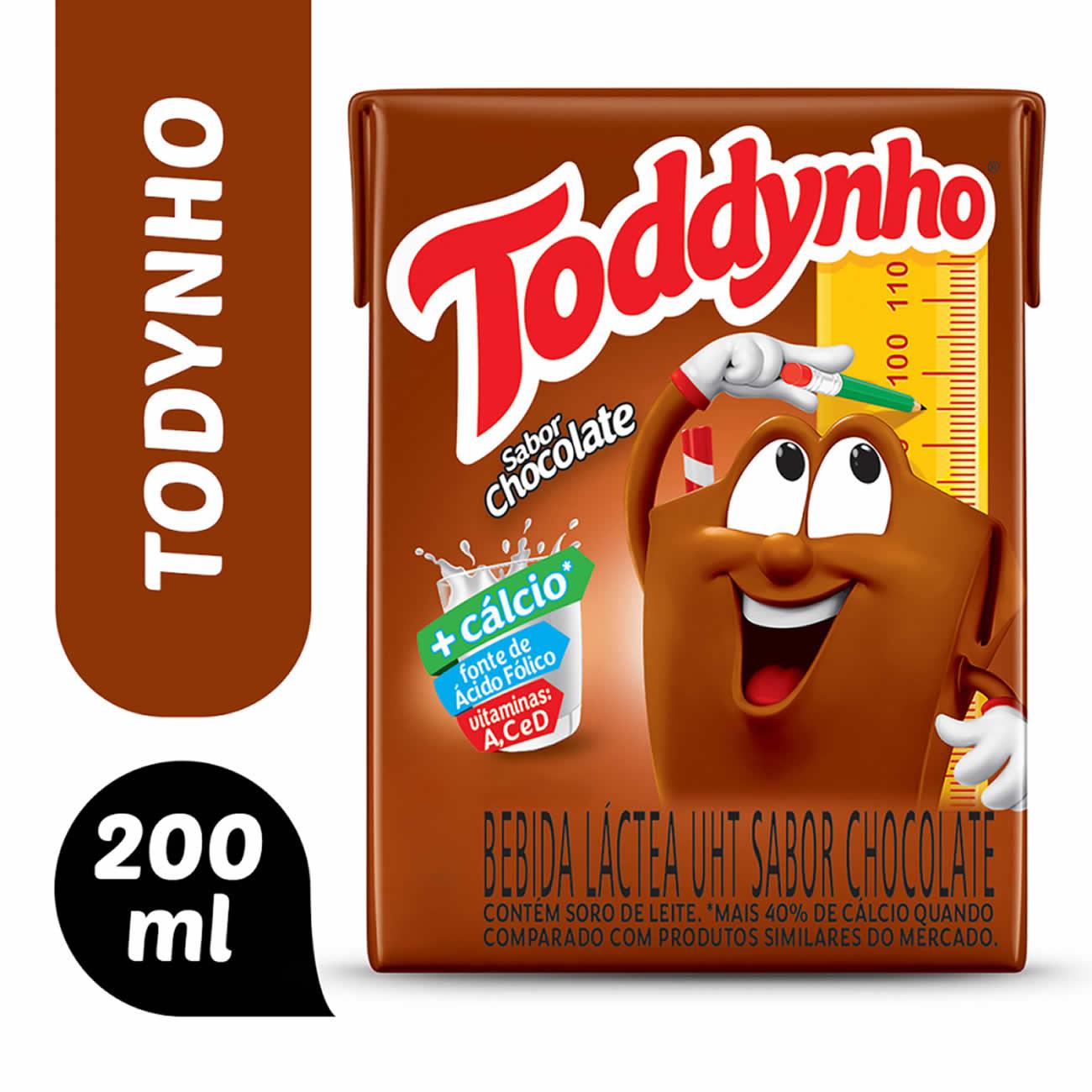 Achocolatado Toddynho Pronto 200ml