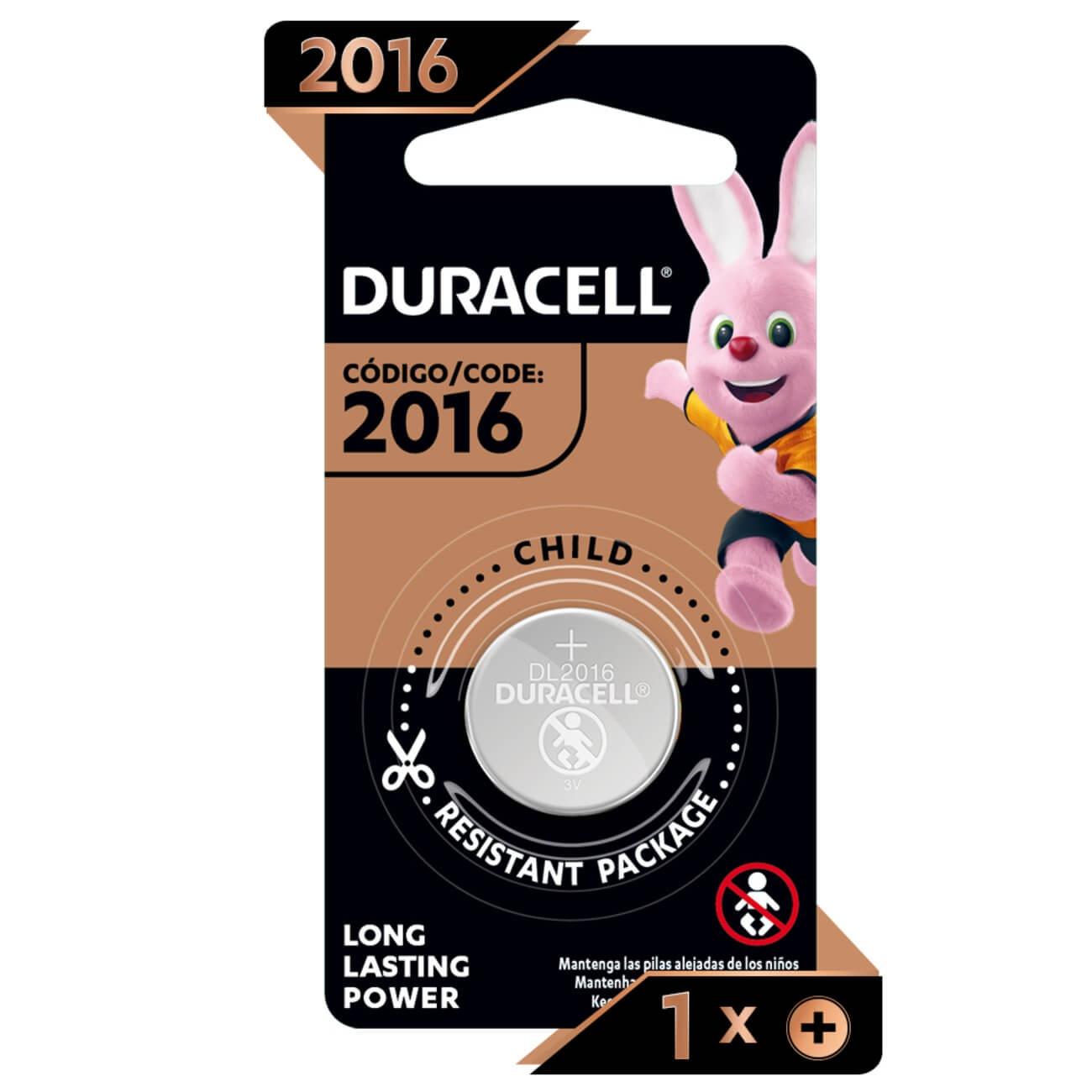 Bateria Duracell de Litio Metalico CR2016